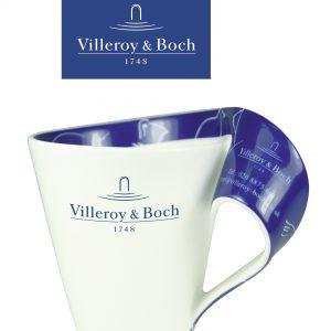 New Wave Villeroy & Boch Porcelain Mug